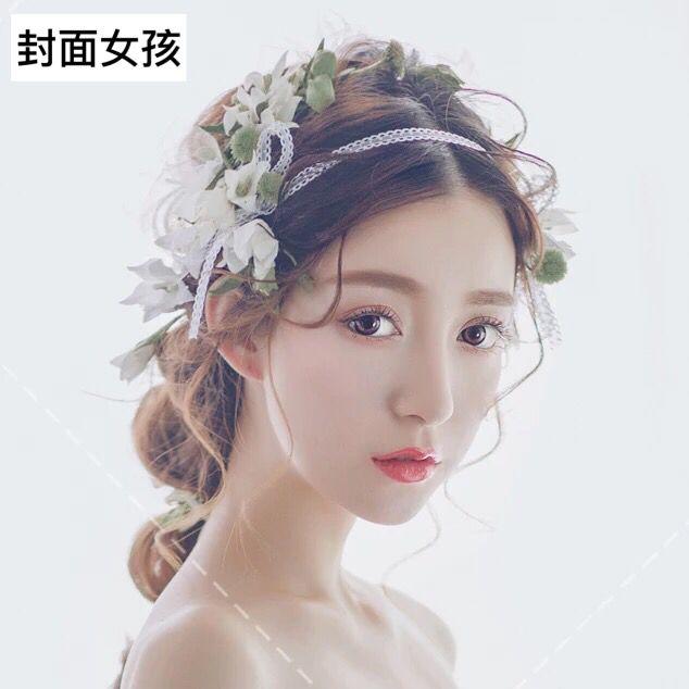 4,中式新娘(短发新娘发型);如何快速改造型和换造型;结婚当天